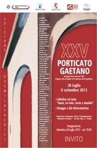 XXV Porticato Gaetano 2013
